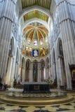 Almudena Kathedrale, Madrid, Spanien lizenzfreie stockbilder
