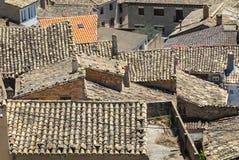 Almudevar (l'Aragona, Spagna) Immagini Stock