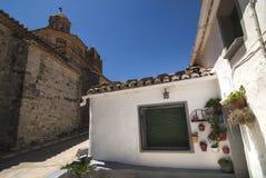 Almudevar (l'Aragona, Spagna) Fotografia Stock Libera da Diritti