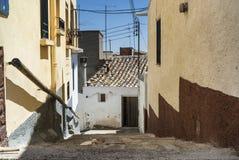 Almudevar (l'Aragona, Spagna) Fotografie Stock