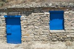 Almudevar (l'Aragona, Spagna): bodegas Immagine Stock Libera da Diritti