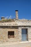 Almudevar (l'Aragona, Spagna): bodegas Fotografie Stock