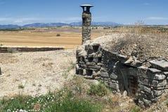 Almudevar (l'Aragona, Spagna): bodegas Fotografia Stock