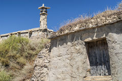 Almudevar (l'Aragona, Spagna): bodegas Fotografia Stock Libera da Diritti