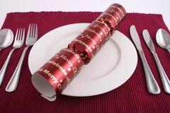 Almuerzo 3 de la Navidad Imagenes de archivo