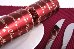 Almuerzo 4 de la Navidad foto de archivo libre de regalías