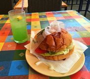 almuerzo imagen de archivo