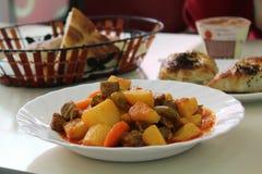 Almuerzo agradable Imagen de archivo libre de regalías