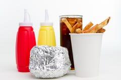 Almuerzo americano Fotos de archivo