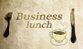 Almuerzo de asunto Foto de archivo
