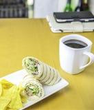 Almuerzo de Easey en casa Fotos de archivo
