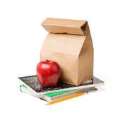 Almuerzo de escuela Fotos de archivo libres de regalías