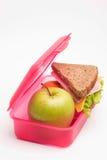 Almuerzo de escuela Imagen de archivo libre de regalías
