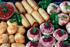 Almuerzo de la comida fría Imagenes de archivo