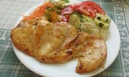 Almuerzo de la obesidad de Anty Fotos de archivo