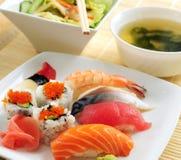 Almuerzo del sushi Fotografía de archivo libre de regalías
