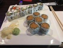 Almuerzo del sushi Imagen de archivo