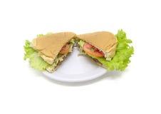 Almuerzo delicioso Foto de archivo