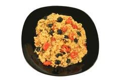 Almuerzo mediterráneo del vegetariano del estilo Fotografía de archivo