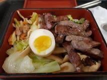 Almuerzo mezclado del taiwanés y del Japonés-estilo fotografía de archivo libre de regalías