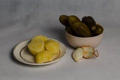 Almuerzo modesto Foto de archivo libre de regalías