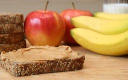 Almuerzo sano Foto de archivo libre de regalías