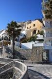 almunecar西班牙城镇 免版税库存照片