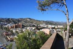 almunecar πόλη της Ισπανίας στοκ εικόνες