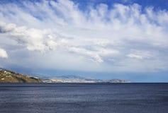 Almunecar in Andalusia, Spagna Immagini Stock Libere da Diritti