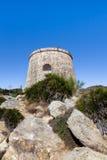 Almunecar  ruins Stock Image