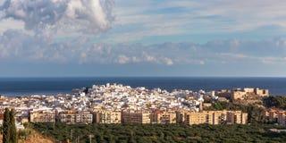 Almunecar. The seaside vacation town of Almunecar   Costa del Sol, Andulacia, Spain Royalty Free Stock Photos