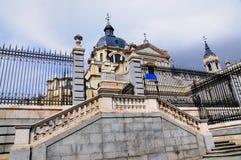 Almuneda大教堂,马德里,西班牙 免版税图库摄影