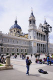 Almuneda Cathedral, Madrid, Spain Royalty Free Stock Photos