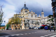Almuneda, Madryt, Hiszpania obraz stock