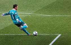 Almunia, guardien de but d'arsenal Photos stock