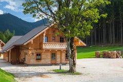 Almwelt Austria è situato sui pendii di Pichl Fotografia Stock
