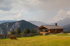 Almwelt Austria è situato sui pendii di Pichl Immagine Stock Libera da Diritti