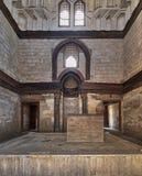 AlNasir穆罕默德Ibn Qalawun, Al Muizz街,老开罗,埃及陵墓  库存照片