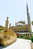 AlNasir穆罕默德清真寺的看法城堡的在开罗 免版税库存图片