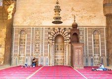 AlNasr穆罕默德清真寺 免版税图库摄影