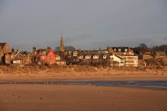 Alnmouth Fotografie Stock