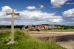 Alnmouth Beach Royalty Free Stock Photography