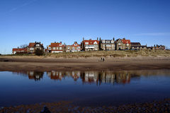 Alnmouth Relflections Stock Photography