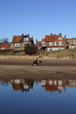 alnmouth relflections obraz royalty free