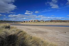 Alnmouth village Royalty Free Stock Image