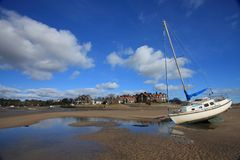 Alnmouth village Stock Photography