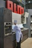 ALNO Niemiecki kuchenny meblarski budka Zdjęcia Stock