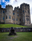 Alnwich Castle - Northumberland royalty free stock photography