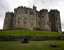 Alnwich-Schloss - Northumberland Lizenzfreies Stockfoto