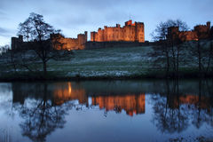 Alnwick castle Stock Photo